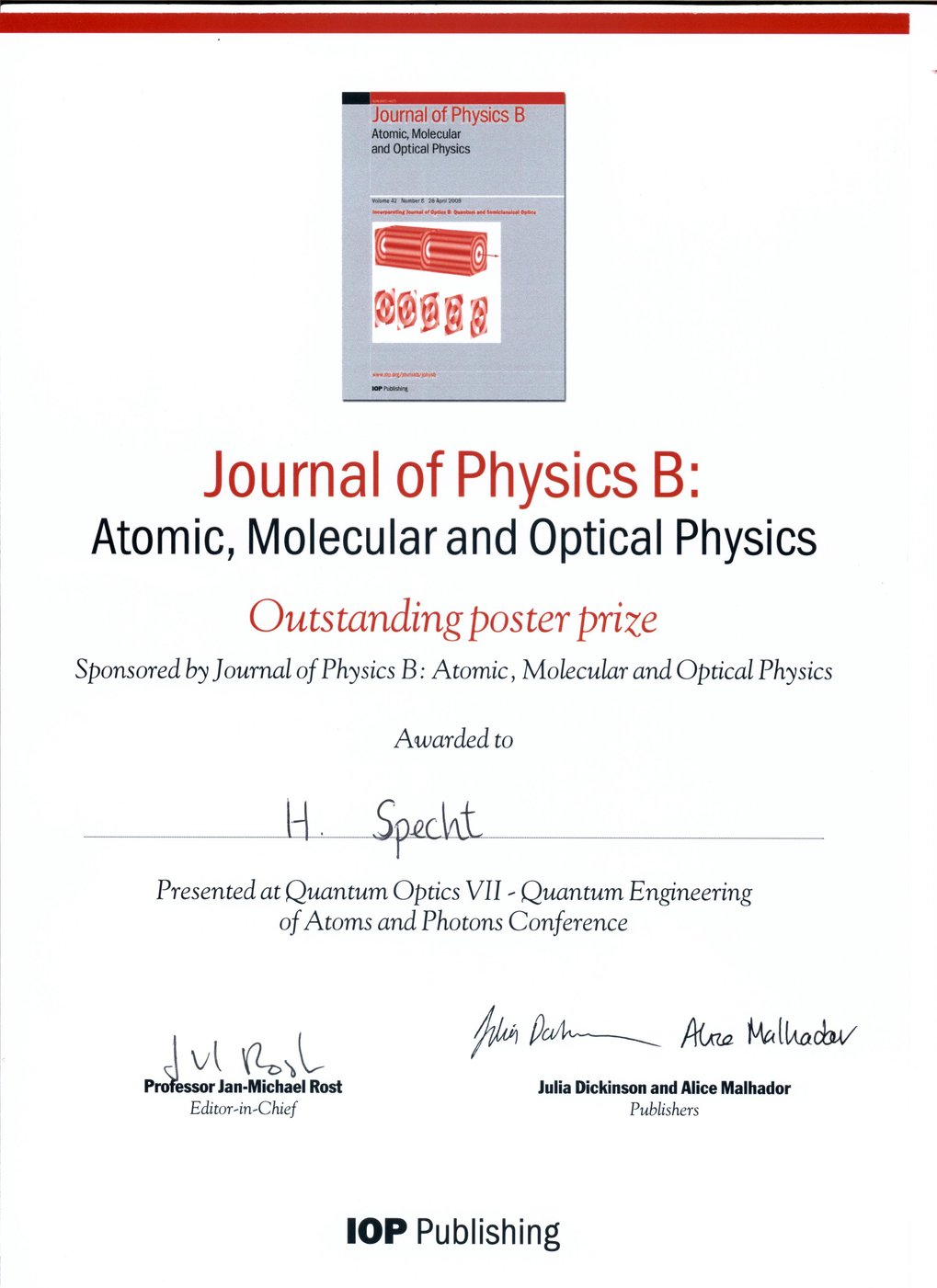 research papers in quantum physics Research in theoretical physics  the quantum handshake explored, paper based on one- hour talk given at technical workshop on advanced propulsion, .