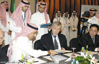 Visit of Prof. T.W. Hänsch at King Saud University on October 28, 2007, on the occasion of a nanoscience symposium